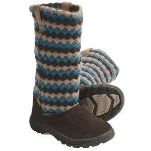 Keen daphne Navajo blue brown sweater boot